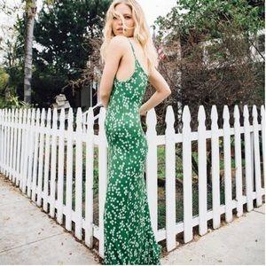 Novella Knit Green Dress